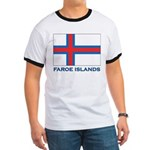 The Faroe Islands Flag Gear Ringer T