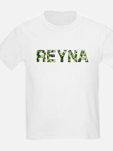 Reyna, Vintage Camo, T-Shirt