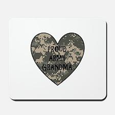 Camo Heart - Grandma Mousepad