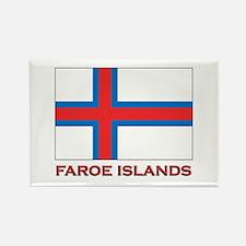 The Faroe Islands Flag Merchandise Rectangle Magne