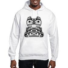 Beaver Native American Design Hoodie