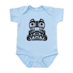 Beaver Native American Design Infant Bodysuit