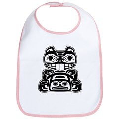 Beaver Native American Design Bib