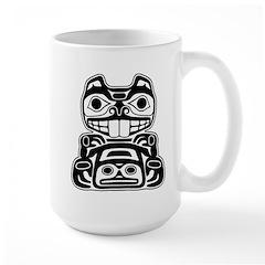 Beaver Native American Design Mug