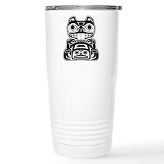 Beaver Native American Design Travel Mug