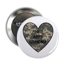 "Proud Army Grandma 2.25"" Button"