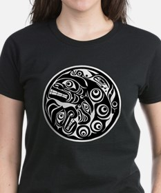 Circle of Faces Native American Design Tee