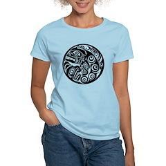 Circle of Faces Native American Design T-Shirt