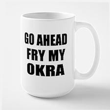 Fry My Okra Mug