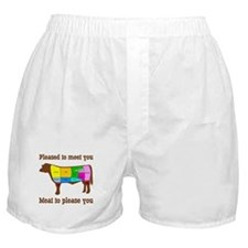 Meat to Please You Boxer Shorts
