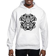 Frog Native American Design Hoodie