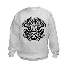 Frog Native American Design Sweatshirt