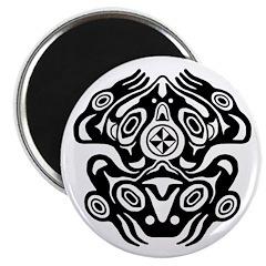 Frog Native American Design Magnet