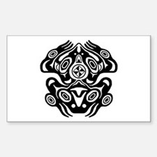 Frog Native American Design Decal