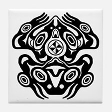 Native american indian pacific northwest coasters cork for Native american tile designs