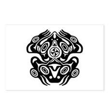 Frog Native American Design Postcards (Package of