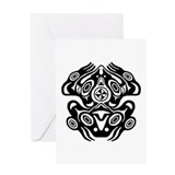Pacific northwest indian art Stationery