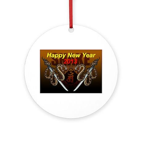 2013snake8 Ornament (Round)