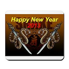 2013snake8 Mousepad