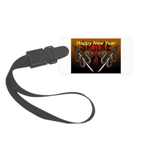 2013snake8 Small Luggage Tag