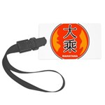 Mahayana In Chinese Large Luggage Tag