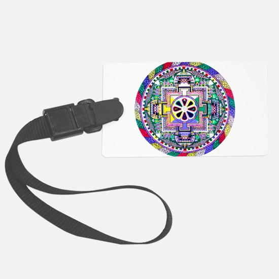 Mandala Luggage Tag