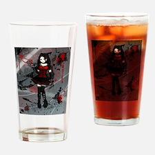 Gothic Lolita Drinking Glass