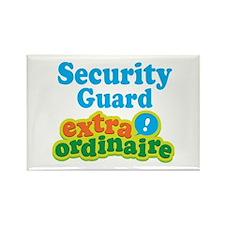Security Guard Extraordinaire Rectangle Magnet