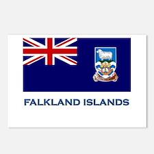 The Falkland Islands Flag Stuff Postcards (Package