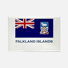 The Falkland Islands Flag Stuff Rectangle Magnet