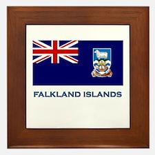 The Falkland Islands Flag Stuff Framed Tile