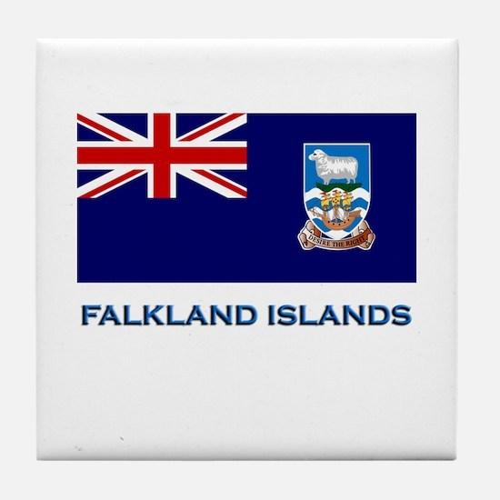 The Falkland Islands Flag Stuff Tile Coaster