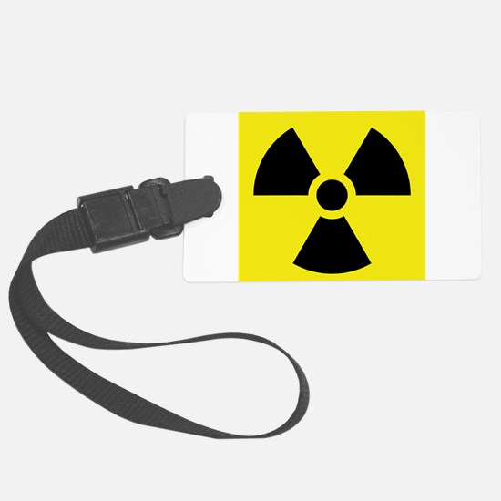 Radioactive Symbol Luggage Tag
