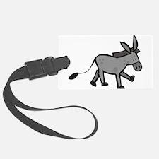 Cute Donkey Luggage Tag