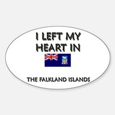 I Left My Heart In The Falkland Islands Decal