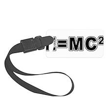 E=MC Square Luggage Tag