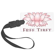Lotus Free Tibet Luggage Tag