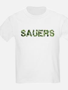 Sauers, Vintage Camo, T-Shirt
