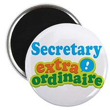 "Secretary Extraordinaire 2.25"" Magnet (10 pack)"