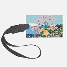 Hokusai Gotenyama Hill Luggage Tag