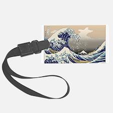Hokusai The Great Wave Luggage Tag