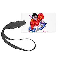 Kabuki Actor Luggage Tag