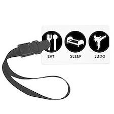 Eat Sleep Judo Luggage Tag