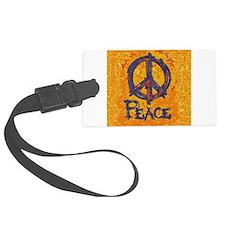 Gustav Klimt Peace Luggage Tag