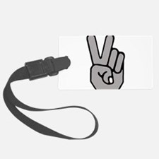 Peace Hand Symbol Luggage Tag