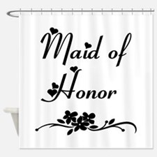Classic Maid of Honor Shower Curtain