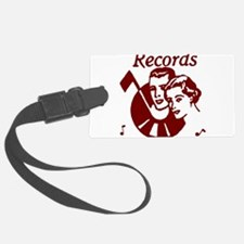 Records Luggage Tag