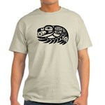 Raven Native American Design Light T-Shirt