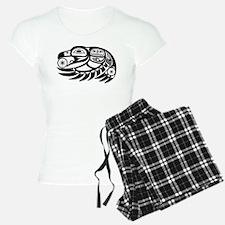 Raven Native American Design Pajamas