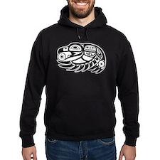 Raven Native American Design Hoodie